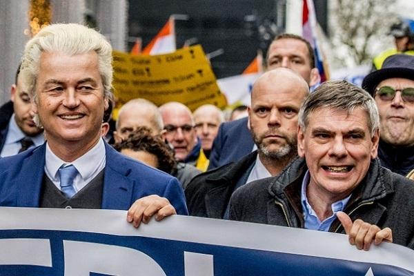 تندروهای هلندی علیه اسلام و دولت تظاهرات کردند
