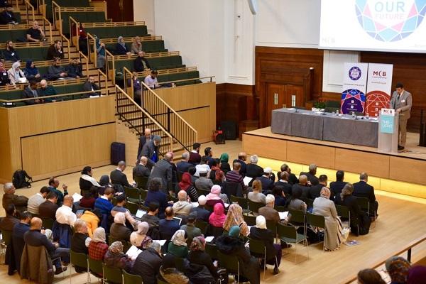 گردهمایی رهبران مسلمان انگلیس در همایش ملی مساجد + عکس /آماده