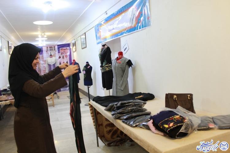 گزارش تصویری/آیین گشایش نمایشگاه «در حریم ریحانه»