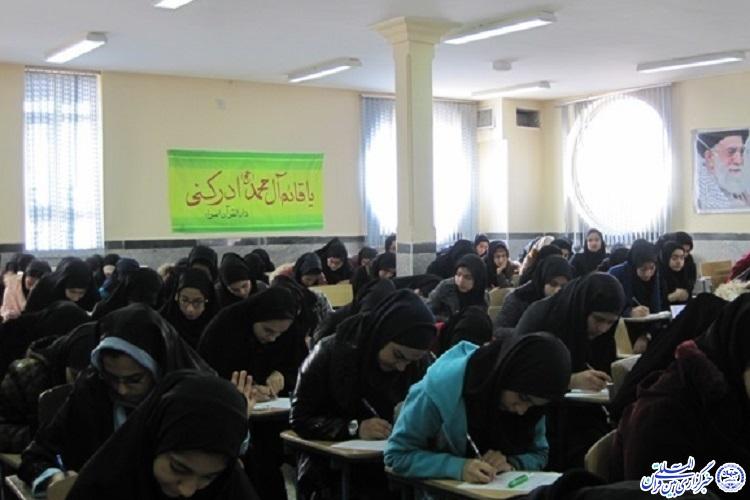 شرکت 1267 دانشآموز شهر حمیل در مسابقات قرآن، عترت و نماز