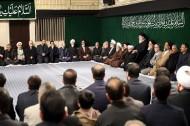 برگزاری مراسم عزاداری شب شهادت حضرت فاطمه زهرا(س) با حضور رهبر معظم انقلاب