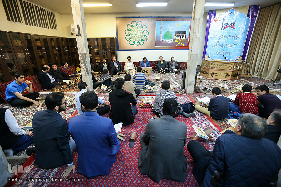 کانون قرآن نورالثقلین مسجد شاه آبادی