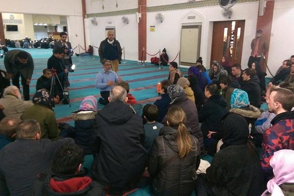 مراسم «درهای باز» کمکی بزرگ به مبارزه با اسلامهراسی