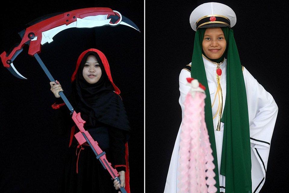 جشنواره ویژه دختران محجبه مسلمان در مالزی