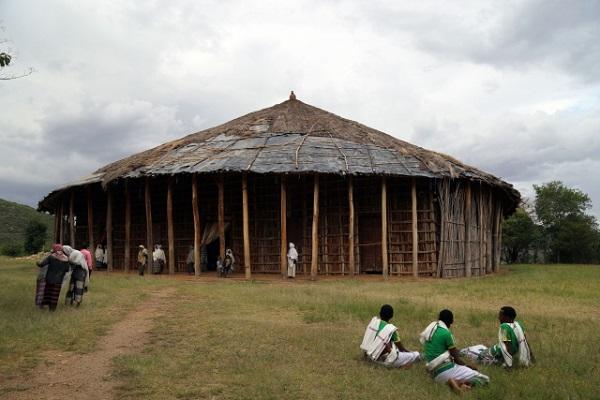 مسجد «طور سینا»؛ چهلستون کشور اتیوپی / در حالی تکمیل