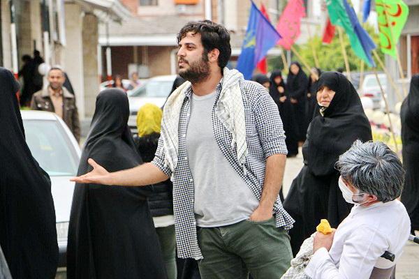 استقبال از نمایش خیابانی حراج در یادواره رسولان حرم مازندران + عکس