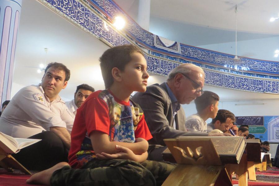 گزارش تصویری برنامه تفسیر قرآن آیت الله میرعمادی