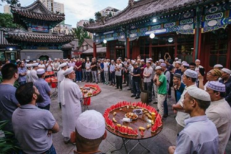 جشن رمضان در پکن