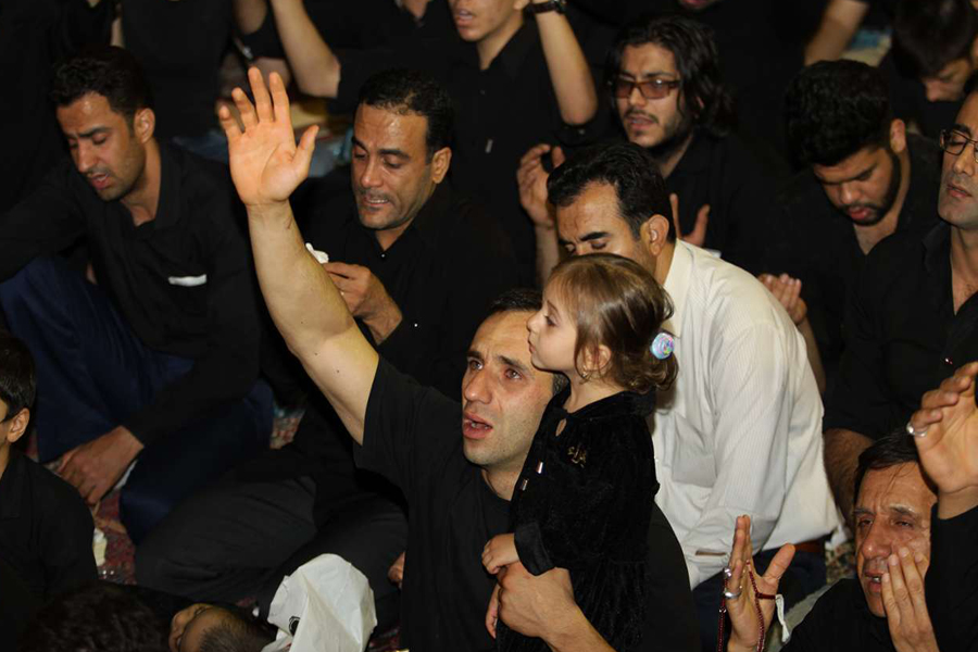 گزارش تصویری مراسم احیای شبهای قدر در لرستان