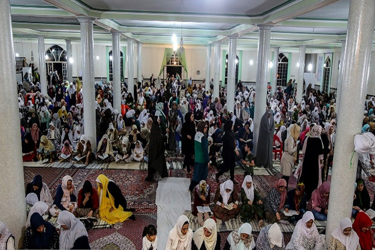 مراسم احیای شب قدر  در مسجد قبای سنندج