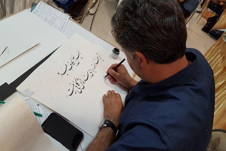 قرآن کریم؛ همزمان با لیالی قدر در تبریز کتابت شد+تصاویر