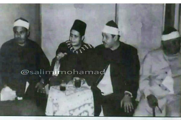 مصطفی اسماعیل، محمود علی البنا، محمود بجرمی و محمود حسین منصور