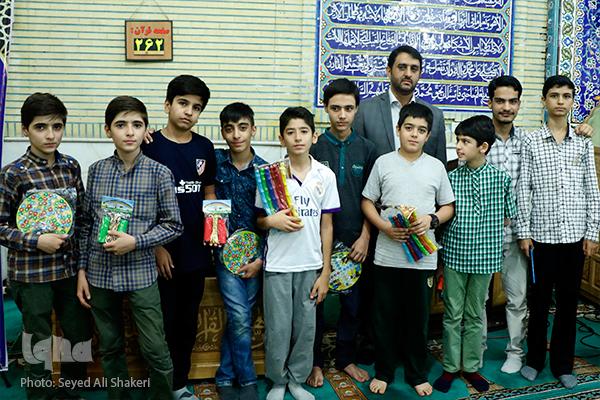 نشود///کرسی های نفحات از تهرانسر تا شهرری با تمسک به امام صادق(ع)+صوت وعکس