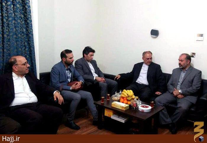 هیئت کنسولی وزارت امور خارجه ایران وارد مدینه منوره شد