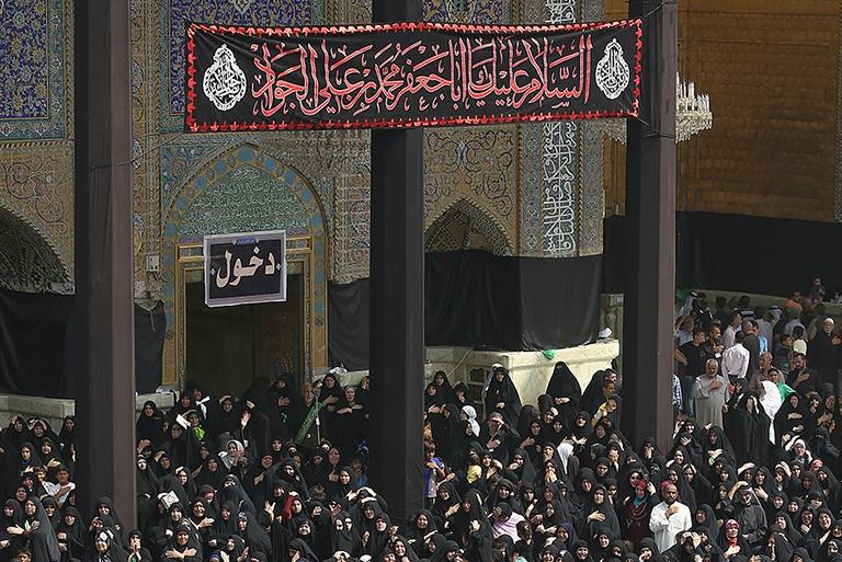 برگزاری مراسم شهادت جوادالائمه(ع) در کاظمین