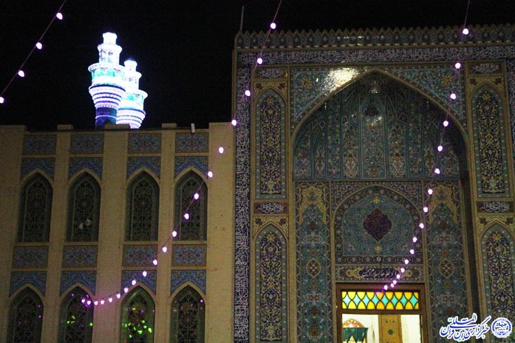 رونمایی از گلدستههای امامزاده جعفر(ع) یزد/طلسم 35 ساله شکسته شد