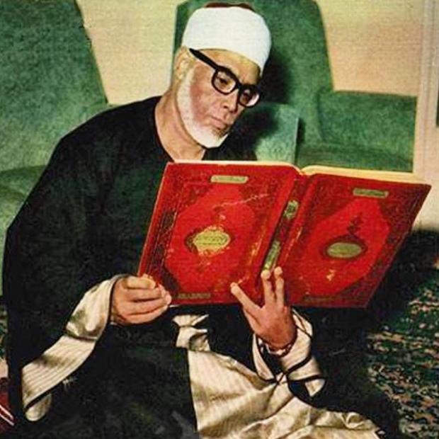 برگی از دفتر مشاهیر قرائت مصر/ سفیر قرآن و تلاوتی ماندگار در سازمان ملل + عکس