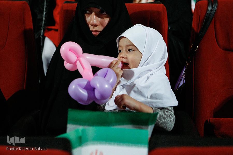 جشن تولد فرزندان شهدای مدافع حرم