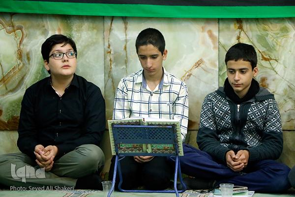 نخستین جلسه قرآن محمدهادی صلحجو پس از حج تمتع / صوت و عکس
