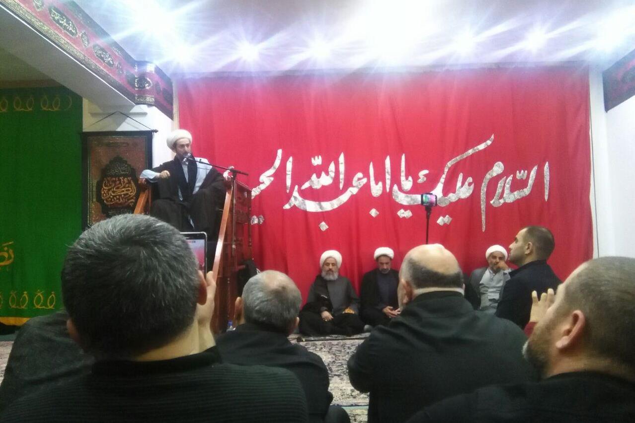 مرکز اسلامی مسکو در شب عاشورا ی حسینی