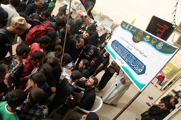 ایستگاههای قرآنی اربعین به نجف و کربلا رسید