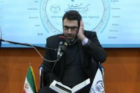 طنین اذان حسین شالچی در نمایشگاه مطبوعات
