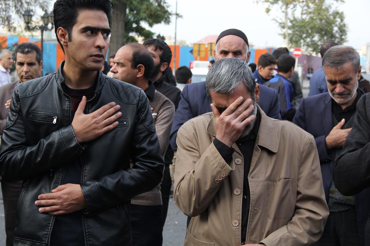 دسته زینبیه اعظم زنجان در روز اربعین
