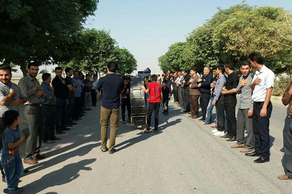 تصاویر عزاداری اربعین حسینی در گتوند