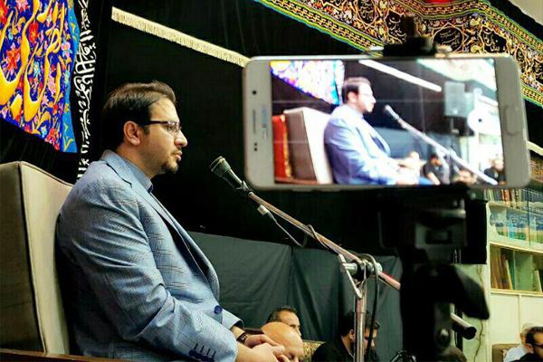تلاوت «حامد شاکرنژاد» در آخرین شب مراسم حسینیه بنی الزهراء