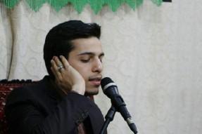 تلاوت اذانگاهی سیافزاده در نمایشگاه مطبوعات