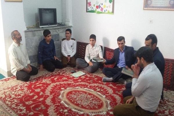جانباز روشندل قرآنی و تربیت حافظان قرآن در شیروان/ مناطق محروم  تحت پوشش موسسه حضرت رسول اکرم(ص)