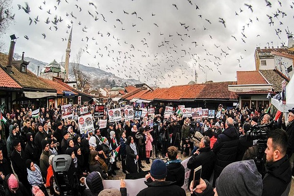 ادامه تظاهرات در سراسر جهان در اعتراض به تصمیم ترامپ درباره قدس
