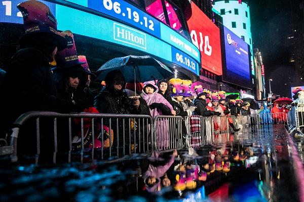 تصاویری از جشن سال نو میلادی در کشورهای مختلف جهان