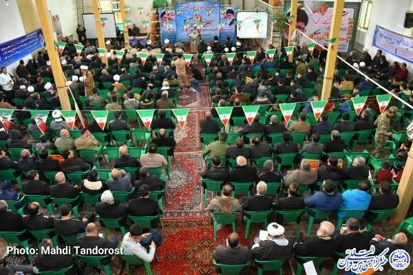 نهمین سالگرد حماسه 9 دی در ماکو برگزار شد