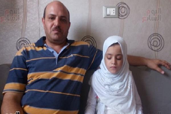 کودک روشندل مصری در هفت سالگی حافظ قرآن شد