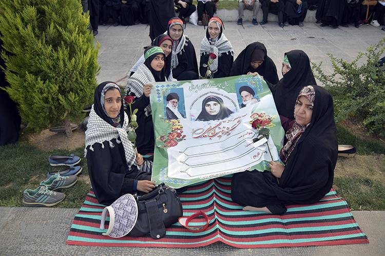 گرامیداشت روز حجاب و عفاف در اصفهان+تصاویر