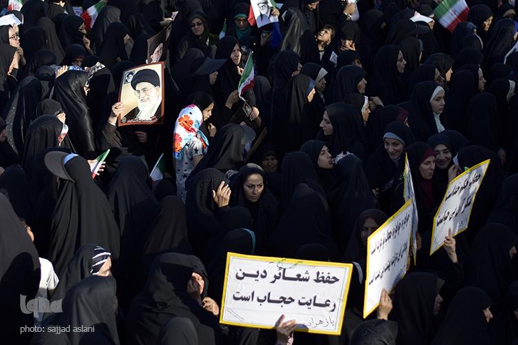 راهپیمایی روز عفاف و حجاب