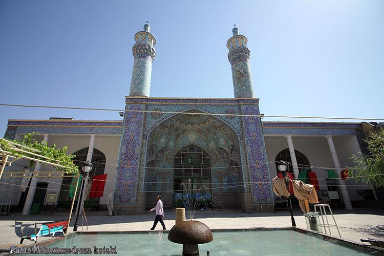 مسجد جامع همدان؛ شاهکاری به جامانده از دوره قاجاریه