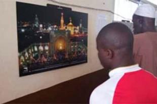 نمایشگاه عکس رضوی در سیرالئون