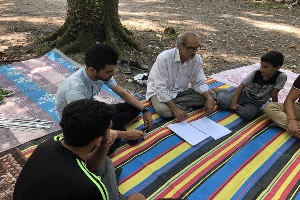 کارگاه آموزشی تئاتر در نور برگزار شد