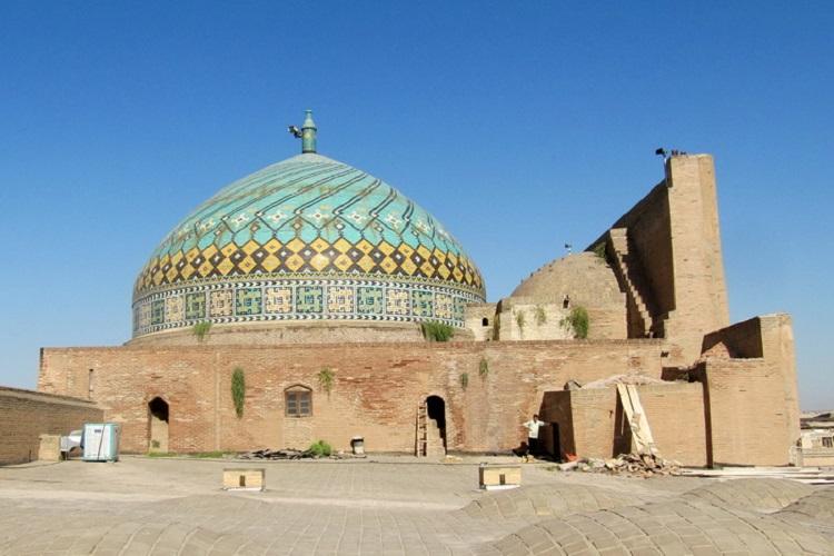 گنبد مسجدالنبی (ص) قزوین مرمت میشود