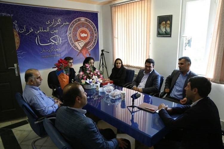 خبرگزاری ایکنا تخصص و کار جهادی را سرلوحه کار خود قرار دهند