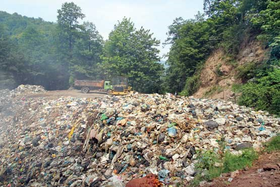 زباله؛ دردبیدرمان در مازندران