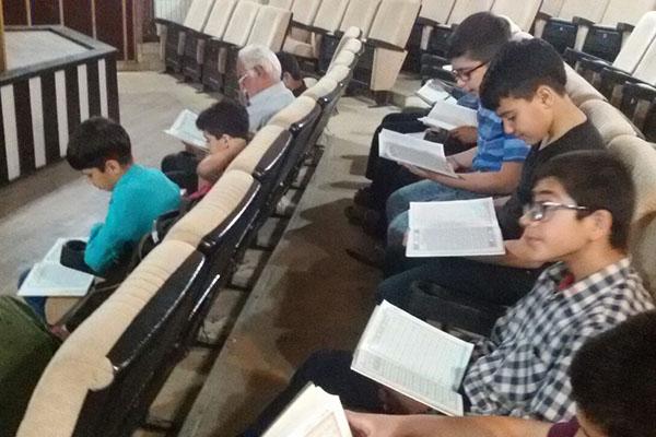 آموزش قرآن در اداره فرهنگ و ارشاد اسلامی املش + تصاویر