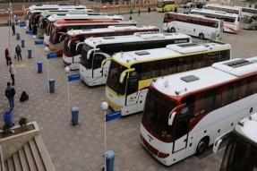 آمادهسازی ناوگان حمل و نقل برای اعزام زائران اربعین
