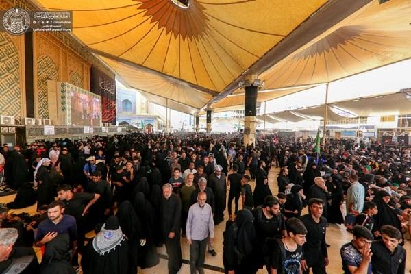 حضور میلیونی زائران در حرم علوی(ع) به روایت تصویر
