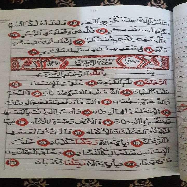 بانوی مصری و عمل به پیشنهاد قرآنی نوه+عکس