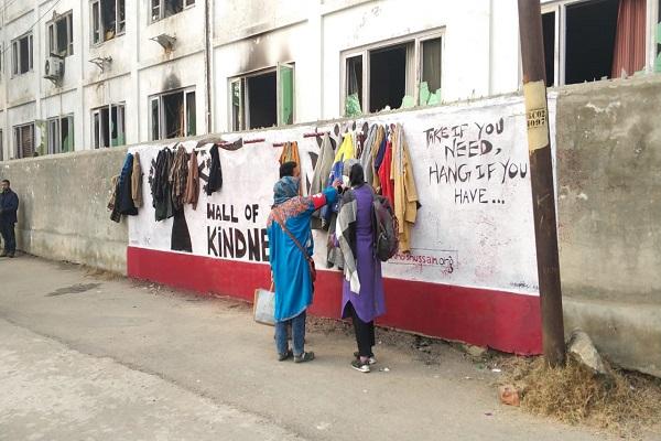 دیوار مهربانی پس از ایران و چین، در هند ساخته شد