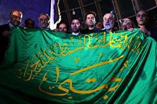 بوستان بهمن؛ میزبان محفل قرآنی و آیین اهتزاز پرچم حرم عبدالعظیم(ع)