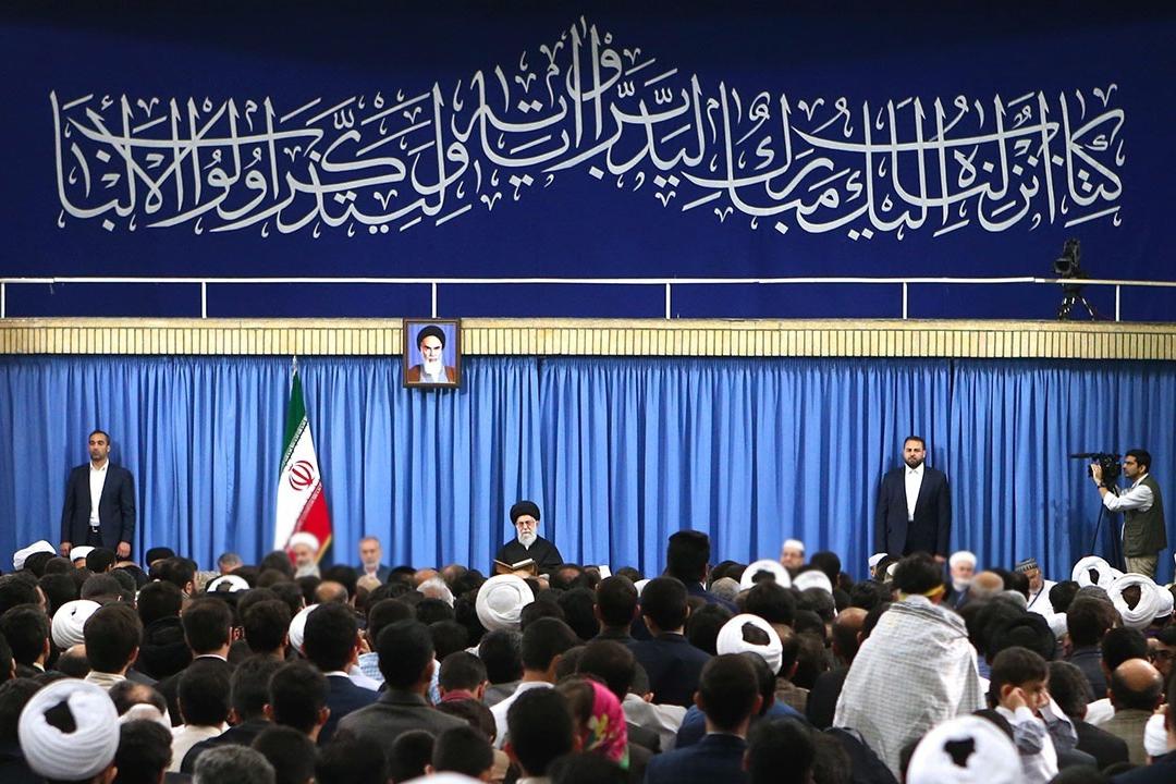 آغاز دیدار شرکتکنندگان مسابقات بینالمللی قرآن با رهبر انقلاب